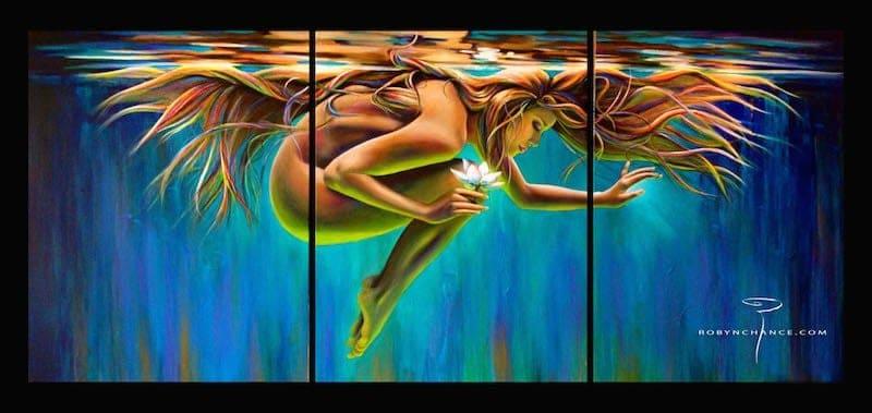 """""""Aquarian Rebirth"""" (artist: Robyn Chance)"""