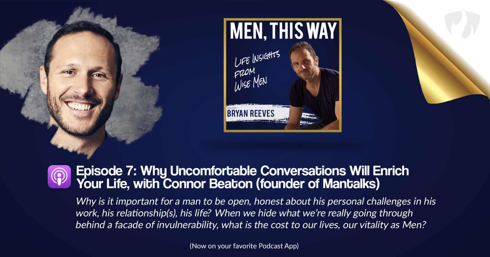 Why Uncomfortable Conversations Will Enrich Your Life w/ Connor